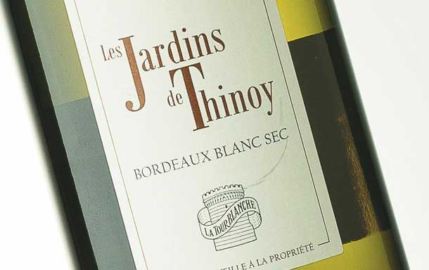 白塔酒庄蒂诺伊花园干白Chateau La Tour Blanche Les Jardins de Thinoy Sec