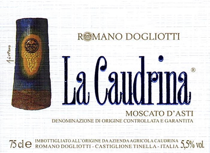 卡乌汀娜莫斯卡托经典莫斯卡托阿斯蒂起泡葡萄酒La Caudrina Moscato d'Asti