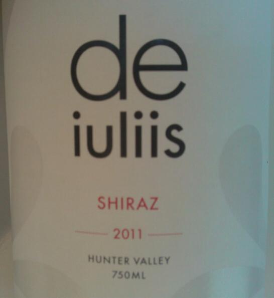 德伊利斯庄园系列西拉干红De Iuliis Estate Range Shiraz