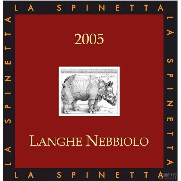 诗培纳内比奥罗干红La Spinetta Langhe Nebbiolo