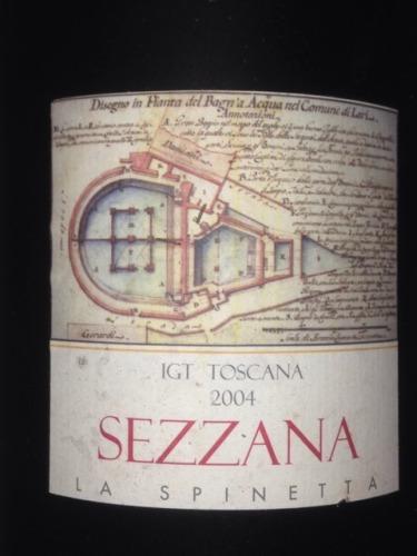 诗培纳赛萨娜托斯卡纳红葡萄酒La Spinetta Sezzana Toscana