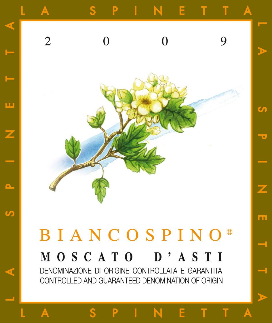 诗培纳小花莫斯卡托阿斯蒂微起泡酒La Spinetta Biancospino