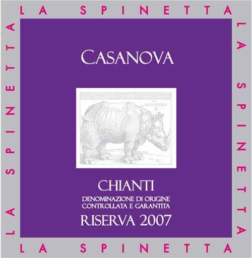 诗培纳基安蒂珍藏干红葡萄酒La Spinetta Casanova Chianti Riserva