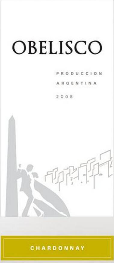 南士阿根廷庄园霞多丽干白Terrasur Obelisco Chardonnay