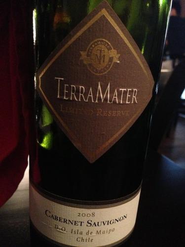 特雷玛特限量珍藏赤霞珠干红TerraMater Limited Reserve Cabernet Sauvignon