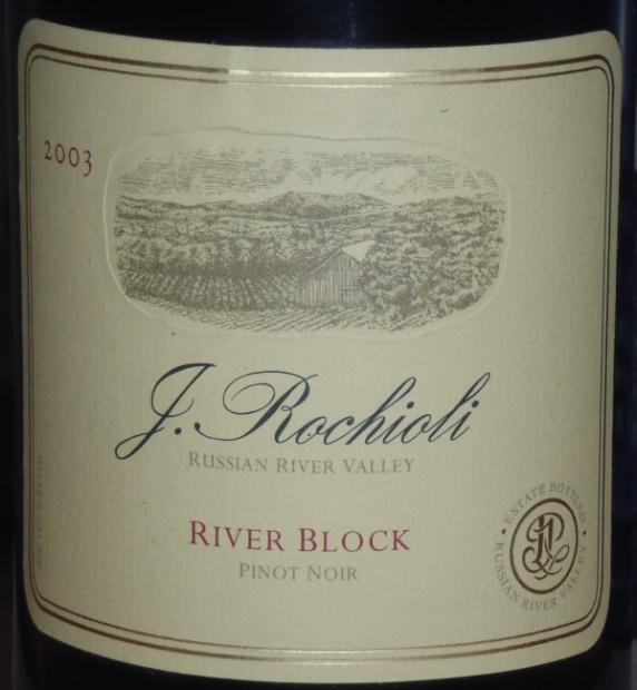 鲁奇奥尼河区黑皮诺干红Rochioli River Block Pinot Noir