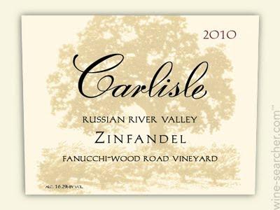 卡尔丽丝芳娜奇伍德路园仙粉黛干红Carlisle Fanucchi Wood Road Vineyard Zinfandel