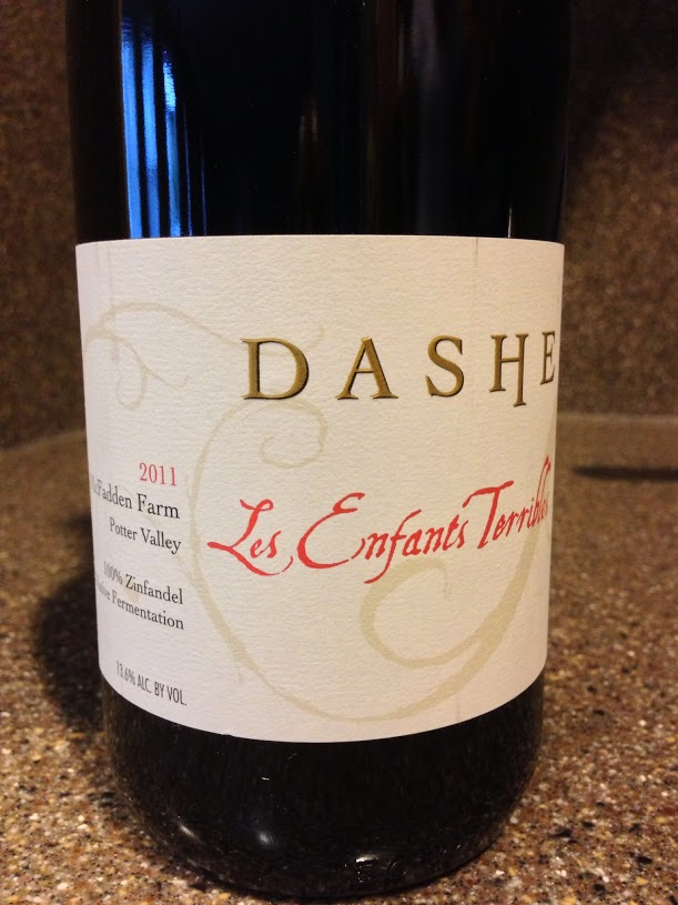 "黛什""可怕的小孩""麦克法登仙粉黛干红Dashe Cellars Les Enfants Terribles McFadden Farms Zinfandel"