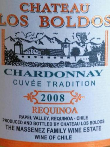 Chateau Los Boldos Chardonnay Requinoa