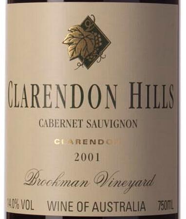 克拉伦敦山布鲁克蒙园赤霞珠干红Clarendon Hills Brookman Vineyard Cabernet Sauvignon