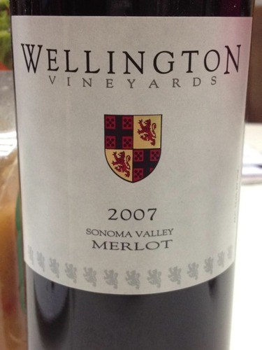 wellington estate merlot (sonoma valley)