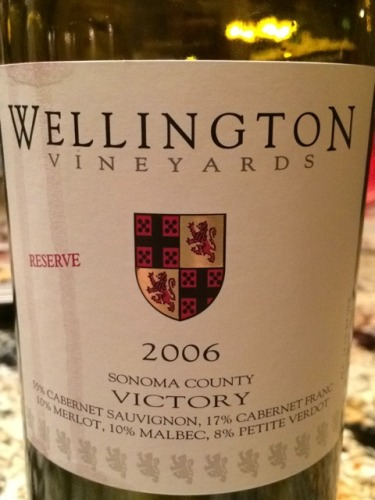Wellington Vineyards Victory Reserve