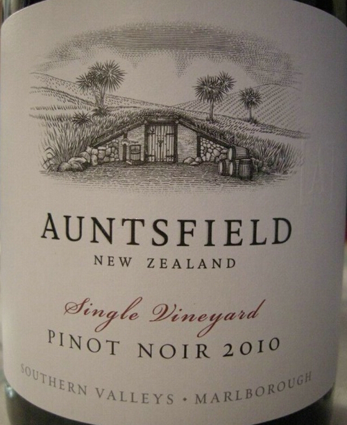 安仕飞单一园黑皮诺干红Auntsfield Single Vineyard Pinot Noir