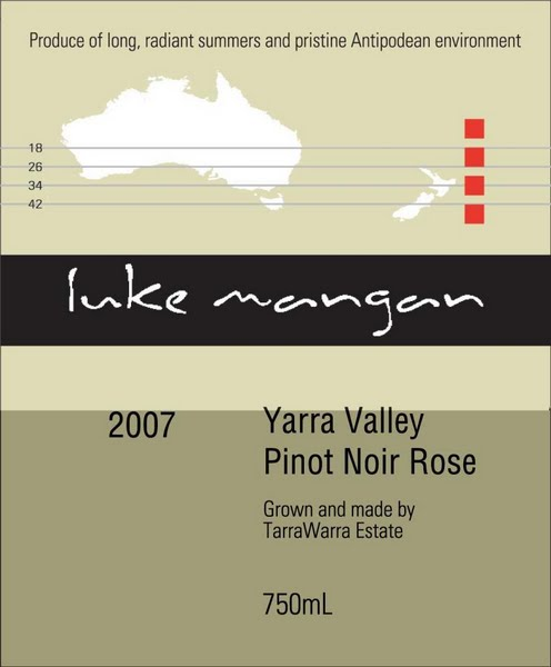 泰拉若拉园黑皮诺桃红TarraWarra Estate Pinot Noir Rose