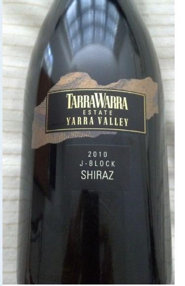 泰拉若拉J西拉干红TarraWarra Estate J-Block Shiraz