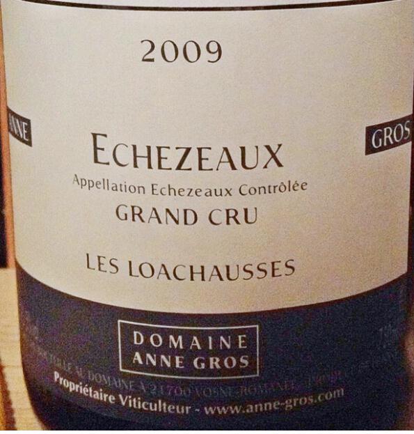 安格奥斯依瑟索干红Domaine Anne Gros Echezeaux Grand Cru