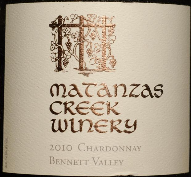 马坦萨斯溪霞多丽干白Matanzas Creek Chardonnay