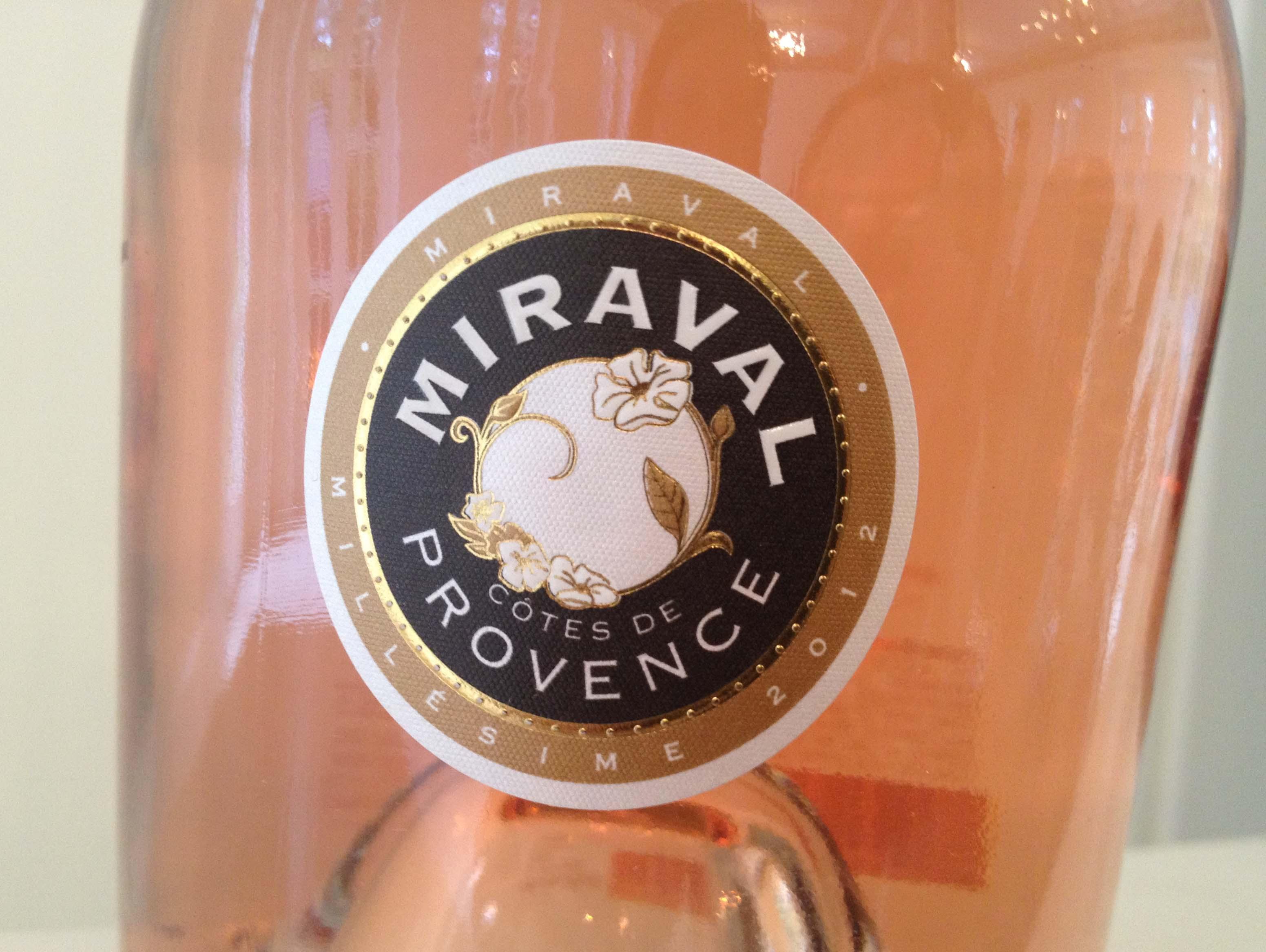 皮特-朱莉酒庄普罗旺斯桃红葡萄酒Chateau Miraval Rose
