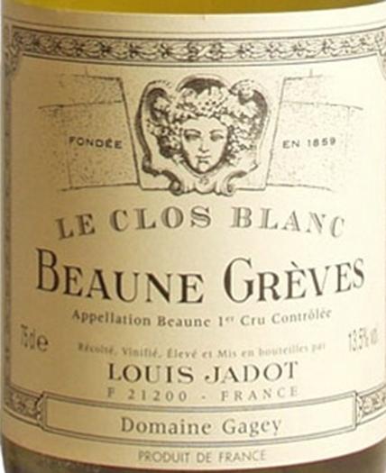 路易亚都格雷芙园干白Louis Jadot Beaune Greves Blanc