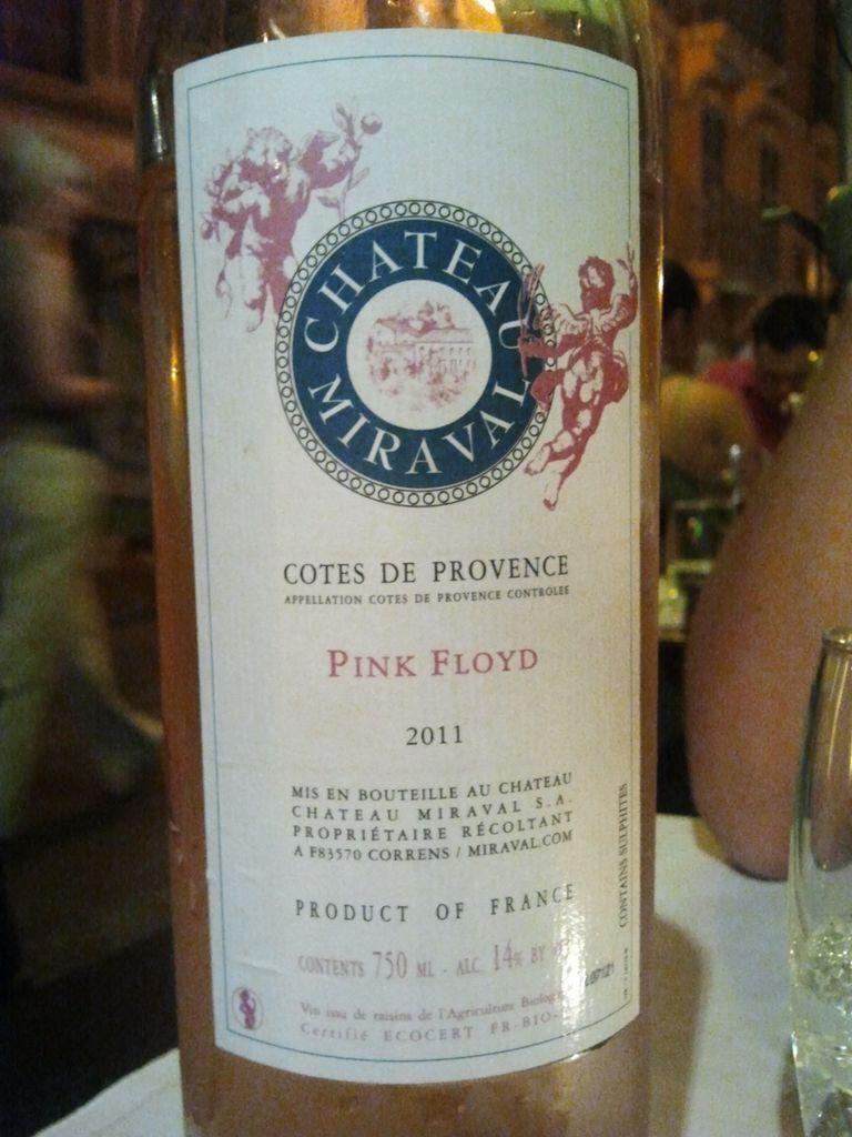 米哈瓦弗洛伊德桃红Chateau Miraval Pink Floyd Rose