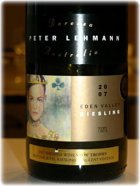 彼德莱曼艺术雷司令干白Peter Lehmann Art Series Riesling