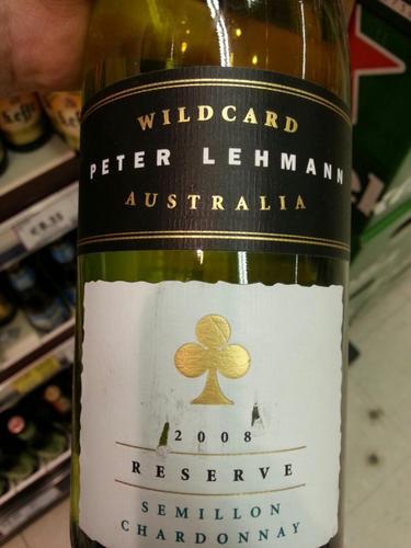 彼德莱曼幸运之星珍藏赛美蓉-霞多丽干白Peter Lehmann Wildcard Reserve Semillon - Chardonnay