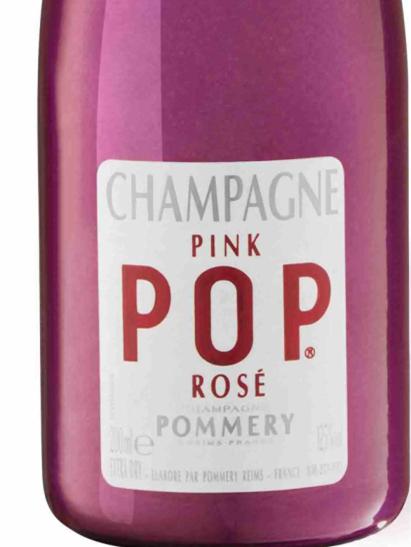 伯瑞POP粉红香槟Champagne Pommery Pink POP Rose