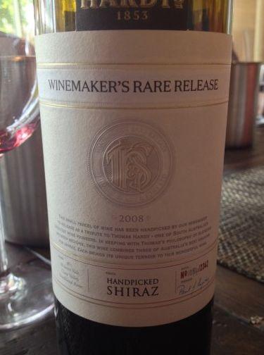 哈迪酿酒师限量西拉干红Hardys Winemaker's Rare Release Shiraz