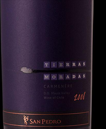 圣派德罗国土园佳美娜干红Vina San Pedro Tierras Moradas Carmenere