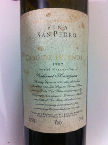 圣派德罗合恩角赤霞珠干红Vina San Pedro Cabo de Hornos Cabernet Sauvignon