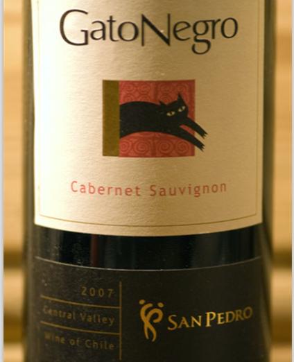 圣派德罗黑猫赤霞珠干红Vina San Pedro Gato Negro Cabernet Sauvignon