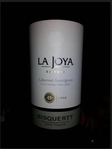 彼斯克提菊雅园珍藏赤霞珠干红Vina Bisquertt Casa La Joya Cabernet Sauvignon Reserve