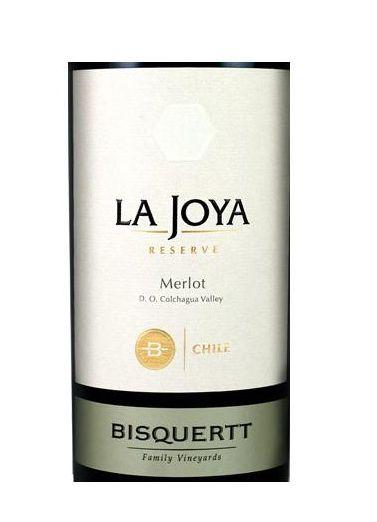 彼斯克提菊雅园珍藏梅洛干红Vina Bisquertt Casa La Joya Reserve Merlot