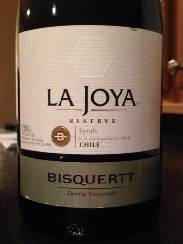 彼斯克提菊雅园珍藏西拉干红Vina Bisquertt Casa La Joya Reserve Syrah