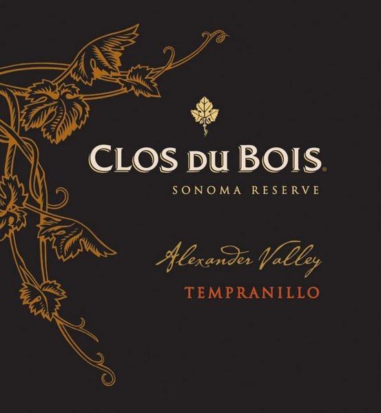 宝林酒堡索诺玛珍藏丹魄干红Clos du Bois Sonoma Reserve Tempranillo