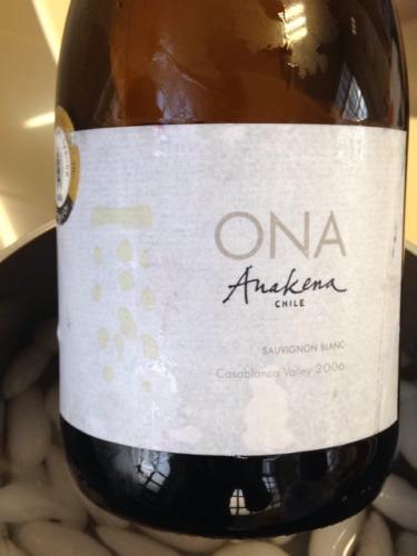 安娜肯纳欧娜系列长相思干白Anakena Ona Sauvignon Blanc