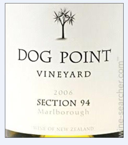 多吉帕特94部长相思干白Dog Point Vineyard Section 94 Sauvignon Blanc
