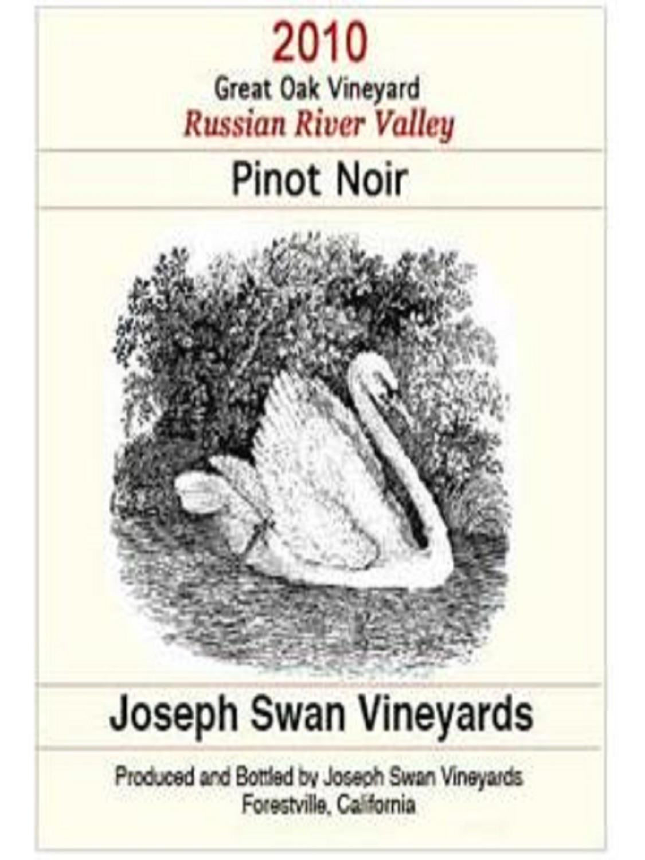 约瑟夫斯旺大橡树园黑皮诺干红Joseph Swan Vineyards Great Oak Vineyard Pinot Noir