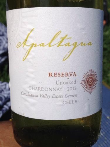 阿帕塔瓜珍藏霞多丽干白(未经橡木桶发酵)Apaltagua Reserva Unoaked Chardonnay