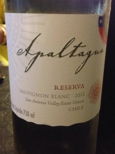 阿帕塔瓜珍藏长相思干白Apaltagua Reserva Sauvignon Blanc