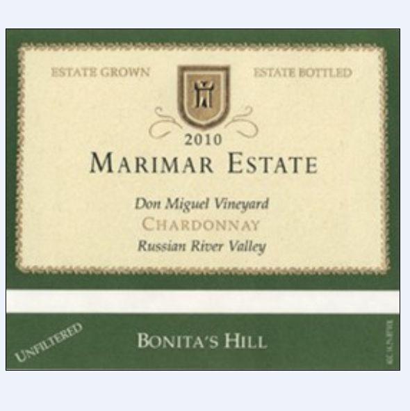 玛尔玛美山霞多丽干白Marimar Estate Bonita's Hill Chardonnay