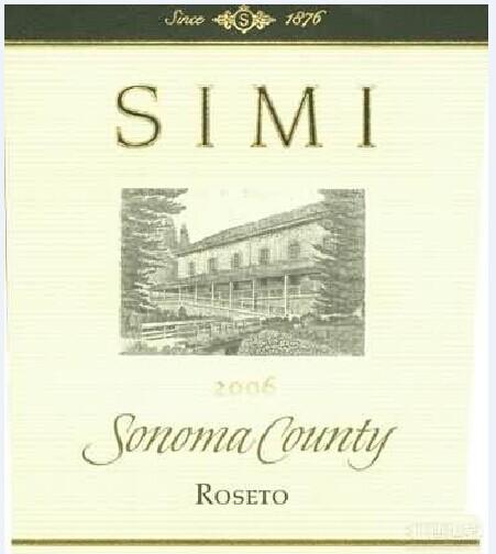 思美鲁塞特干红Simi Winery Roseto