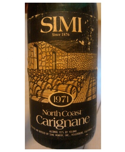 思美佳丽酿干红Simi Winery Carignane