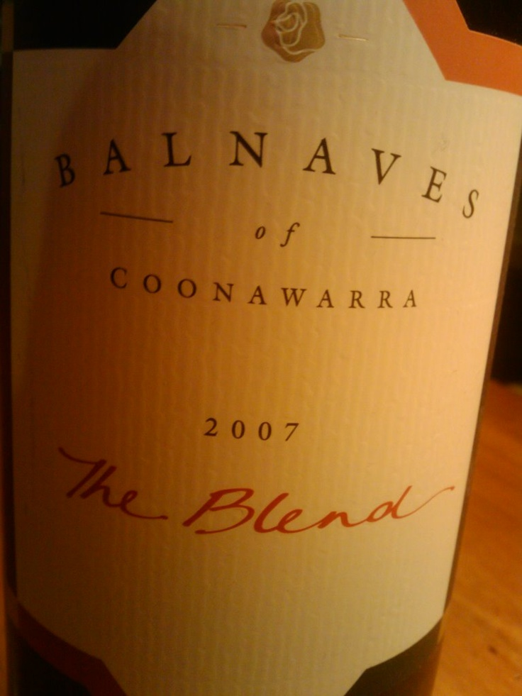 巴内夫混凝干红Balnaves of Coonawarra The Blend