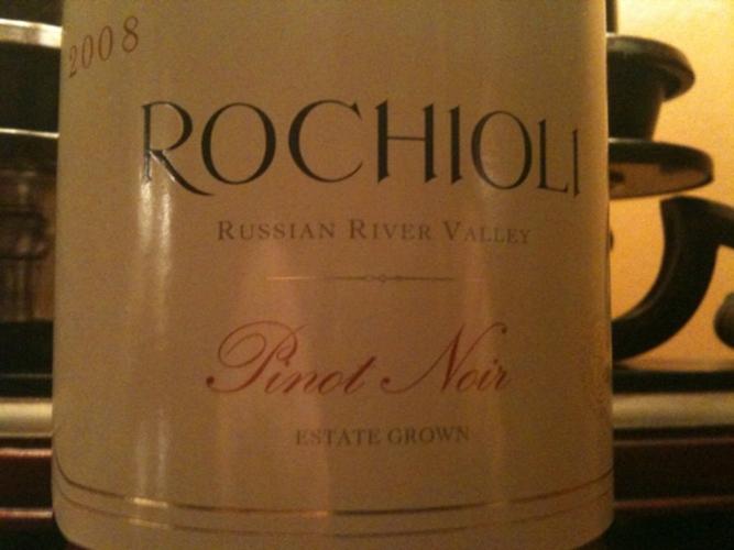 鲁奇奥尼庄园种植黑皮诺干红Rochioli Estate Pinot Noir