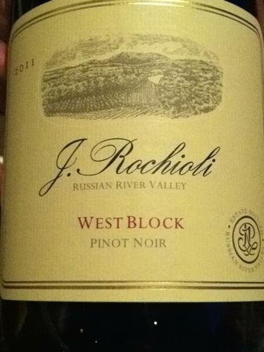 鲁奇奥尼西区黑皮诺干红Rochioli West Block Pinot Noir