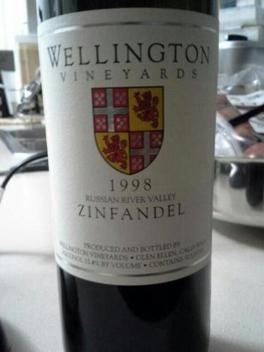 Wellington Vineyards Zinfandel