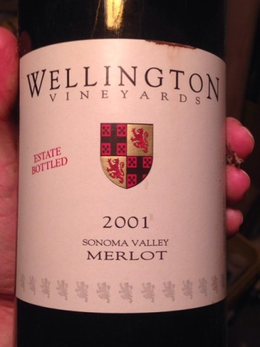 Wellington Vineyards Merlot