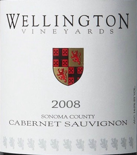Wellington Cabernet Sauvignon Sonoma Valley