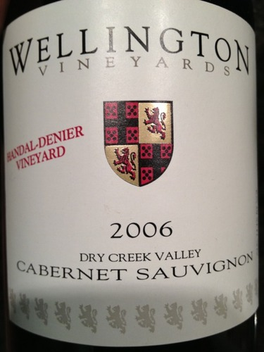 Wellington Vineyards Handal-Denier Vineyard Cabernet Sauvignon